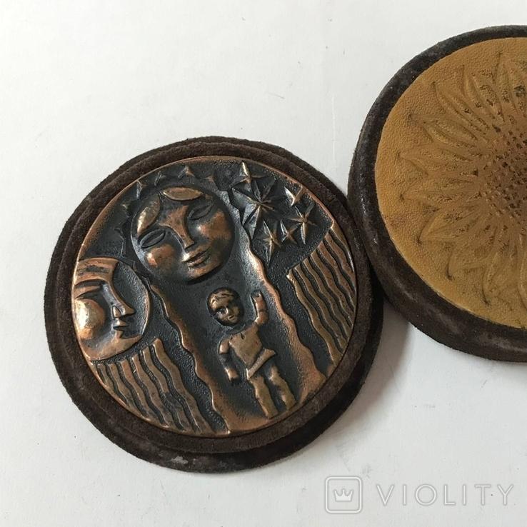 Настольная медаль Латвия, фото №3