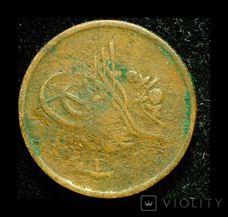 Египет 1/20 кирш 1911, фото №3