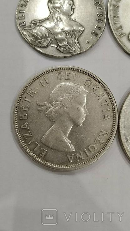 Копии иностранных монет 4шт. (4), фото №5