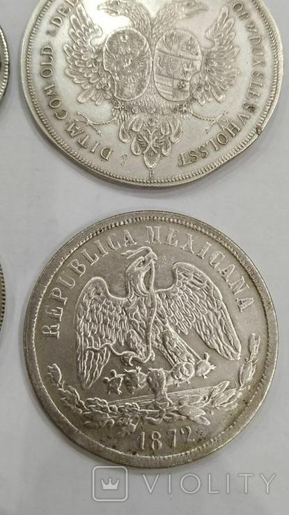 Копии иностранных монет 4шт. (4), фото №9