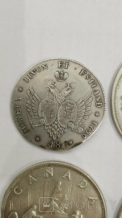 Копии иностранных монет 4шт. (4), фото №10