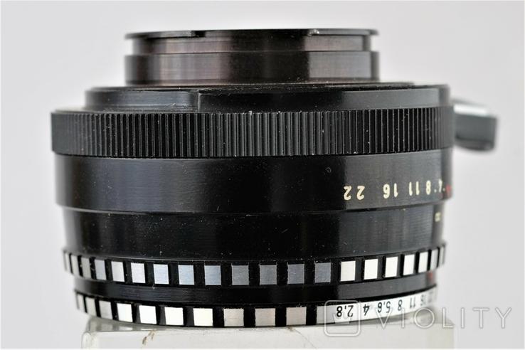 Обектив Domiplan 2.8/50 Meyer-Optik Grlitz зебра для Exakta, фото №5