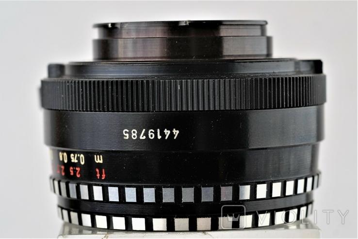 Обектив Domiplan 2.8/50 Meyer-Optik Grlitz зебра для Exakta, фото №6