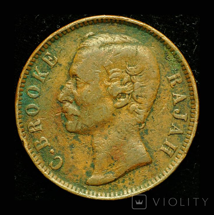 Саравак 1 цент 1888, фото №3