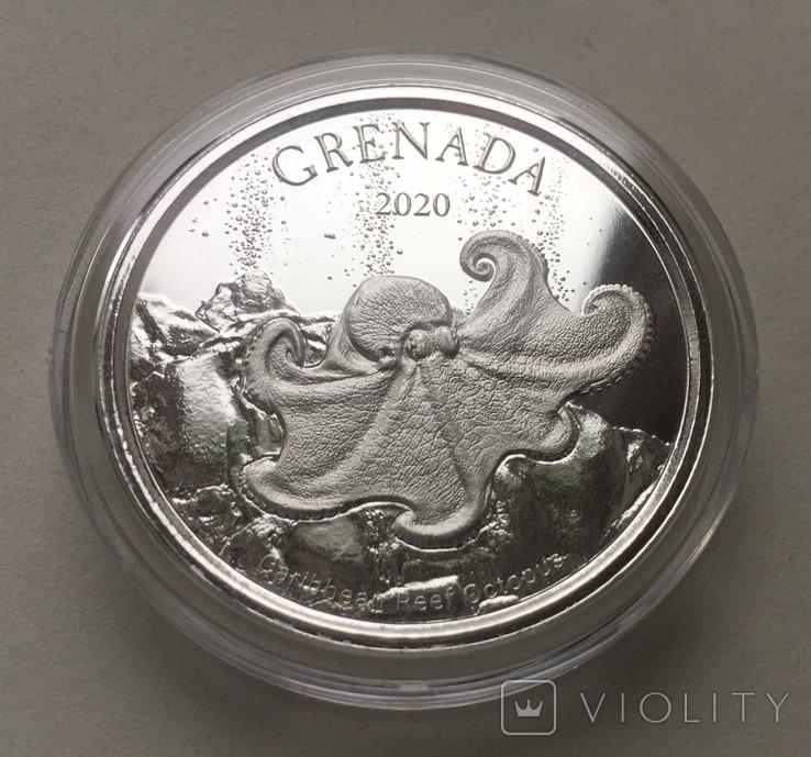 Экзотика Осьминог Восточные Карибы Гренада 2020 Grenada, фото №3