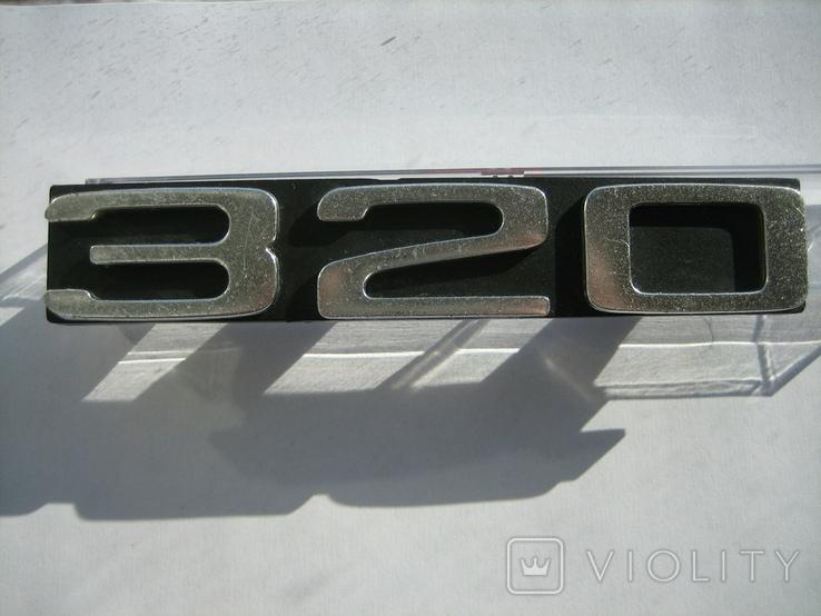 Эмблема на радиаторную решетку BMW 320 (E21), фото №8