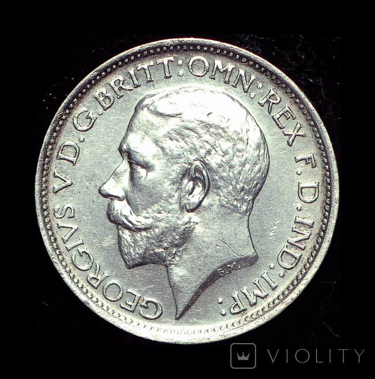 Великобритания 4 пенса 1926 аUnc маунди серебро, фото №3