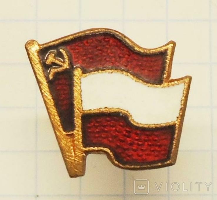 Флаг Польша СССР, фото №2
