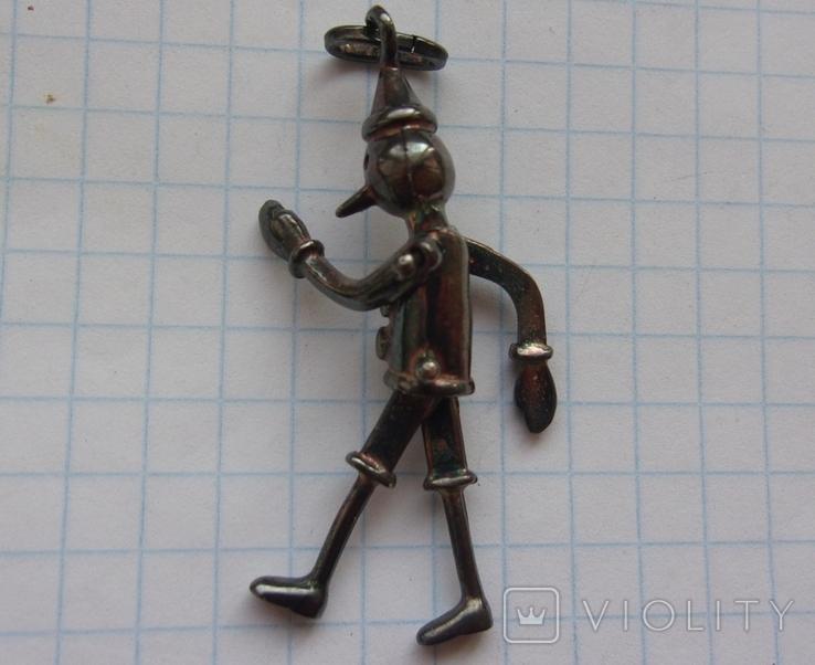 Кулон Пиноккио Италия., фото №9