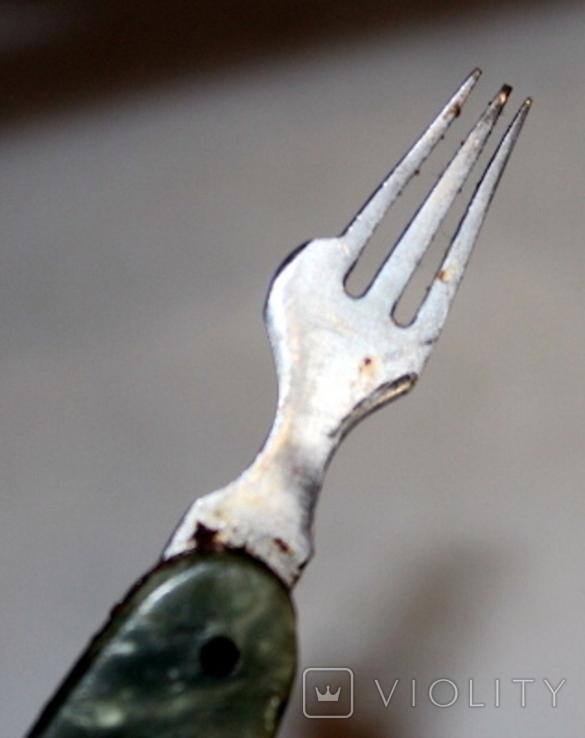 Нож времен СССР и швейцарский (на реставрацию-доноры), фото №6
