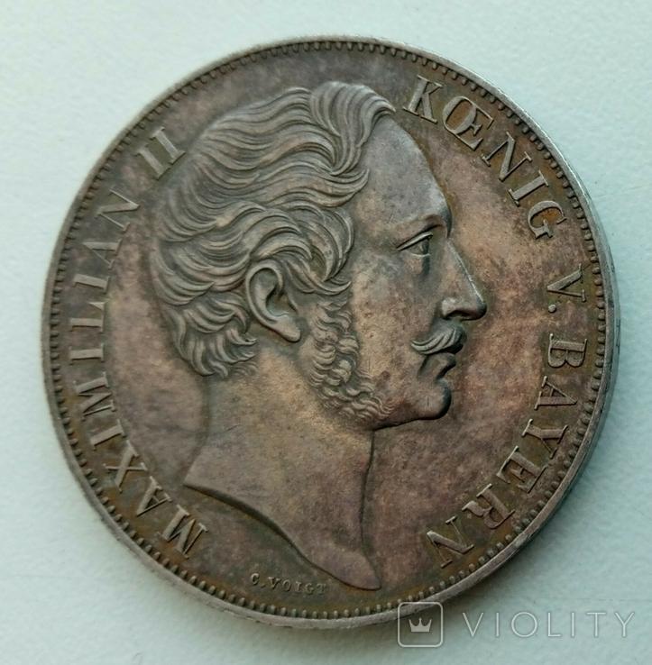 2 гульдена 1855 Баварія, фото №3