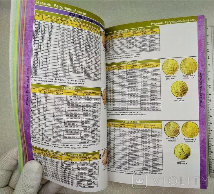 Каталог Монет из Недрагоценный Металлов и Банкнот Евро 1999-2022, фото №6