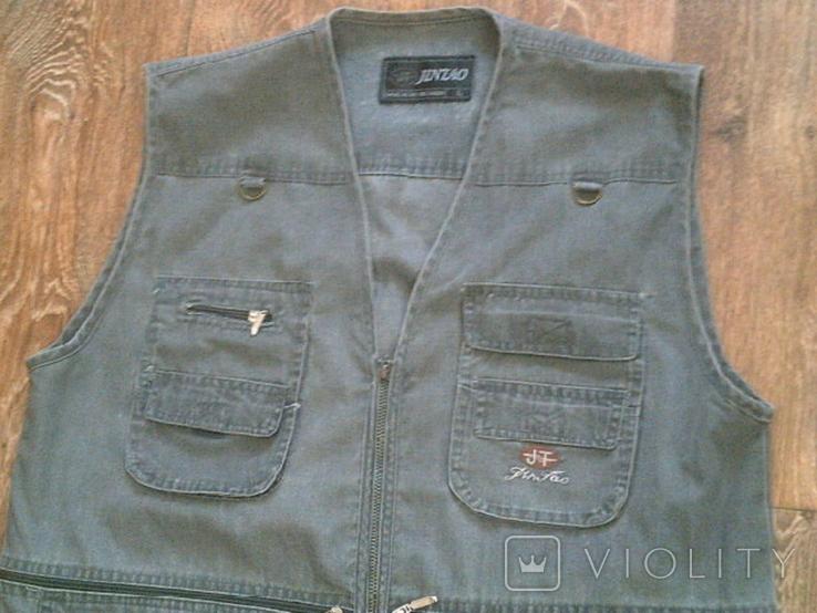 Комплект охотника - (жилетка ,рубашка ,кепи), фото №6