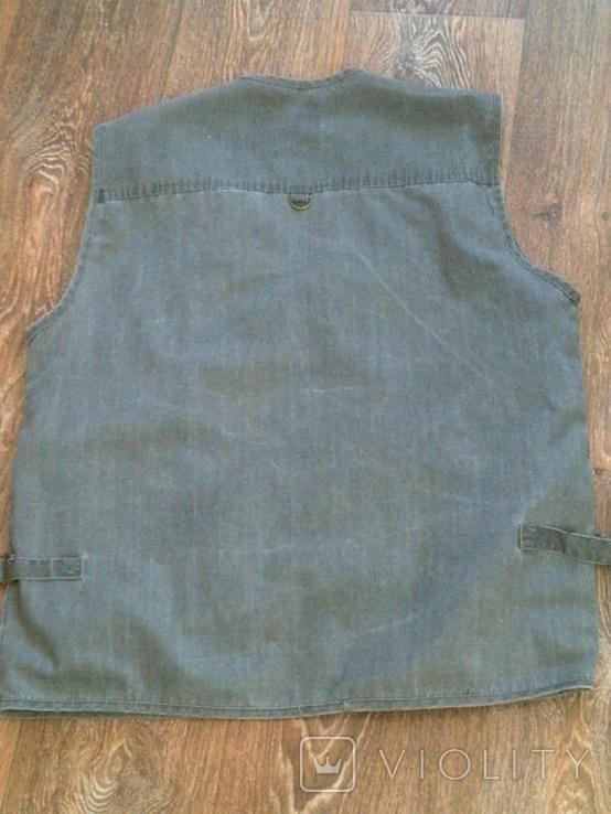 Комплект охотника - (жилетка ,рубашка ,кепи), фото №7