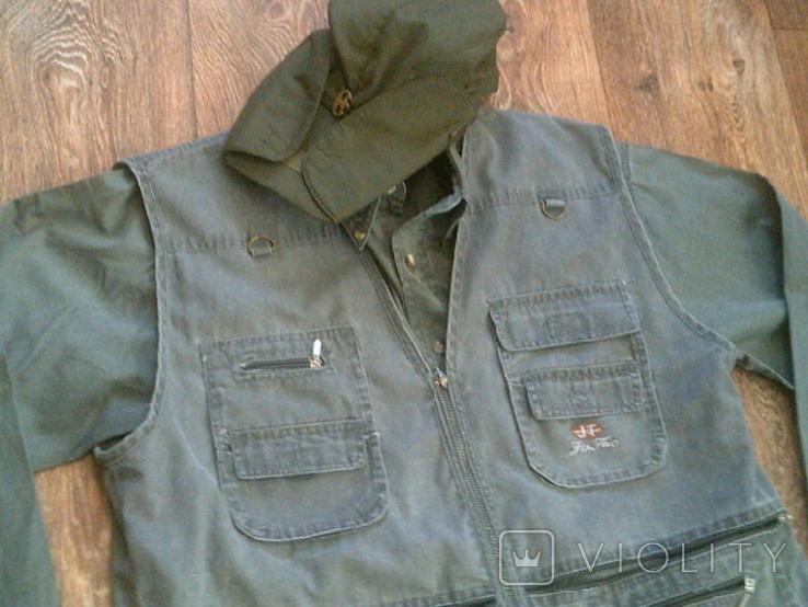 Комплект охотника - (жилетка ,рубашка ,кепи), фото №11