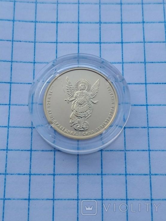 2 гривні Архістратиг Михаїл золото 2020 р. 3,11 грам., фото №3