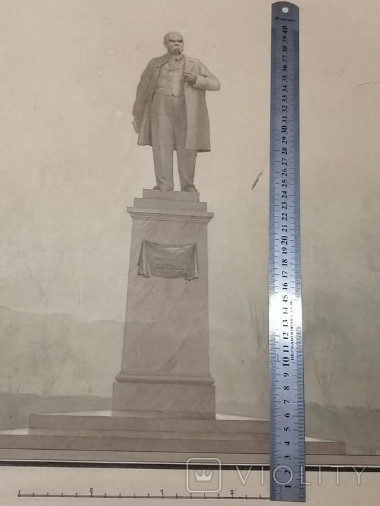 Проект памятника Т. Г. Шевченко, автор архитектор Суворов Всеволод Леонидович, фото №3
