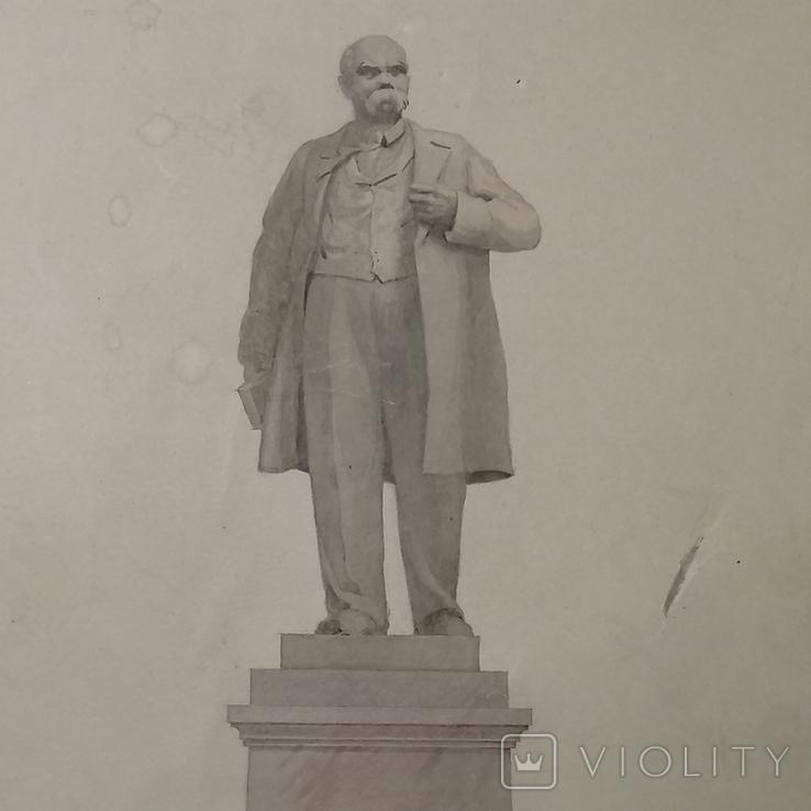 Проект памятника Т. Г. Шевченко, автор архитектор Суворов Всеволод Леонидович, фото №5