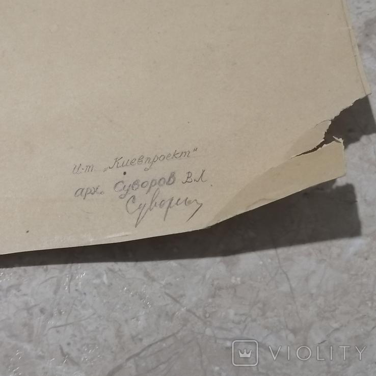 Проект памятника Т. Г. Шевченко, автор архитектор Суворов Всеволод Леонидович, фото №7