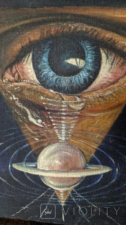 Картина Глаз, фото №5