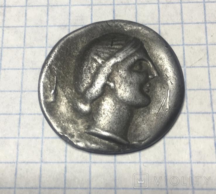 Херсонес 3-4 век Драхма. Копия., фото №2