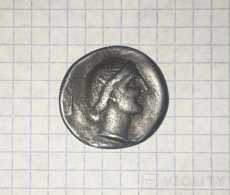 Херсонес 3-4 век Драхма. Копия., фото №12