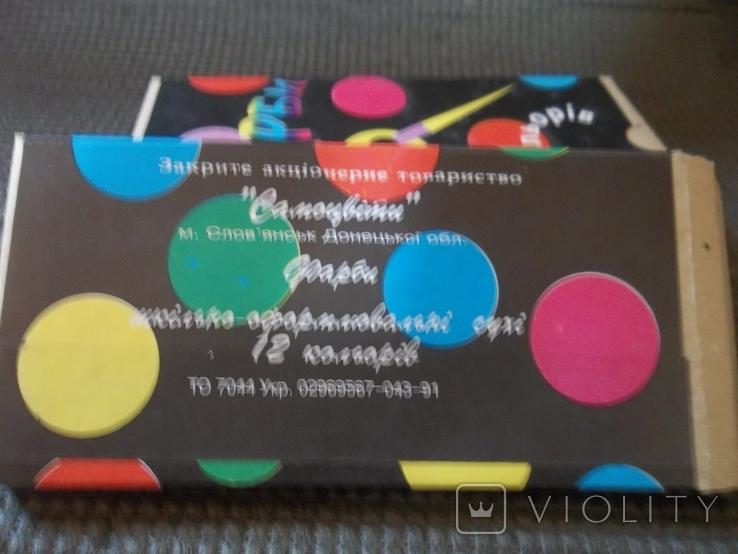 Краски 12 цветов.4 упаковки., фото №6