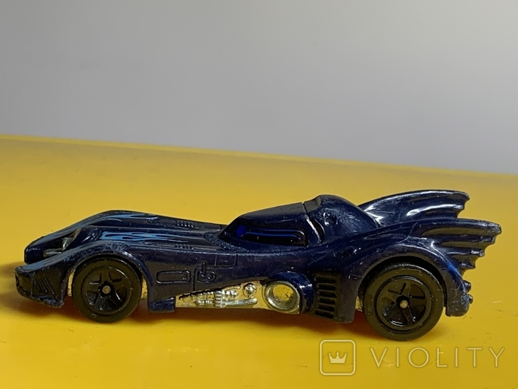 Hot Wheels DC Comics Bat mobile., фото №4