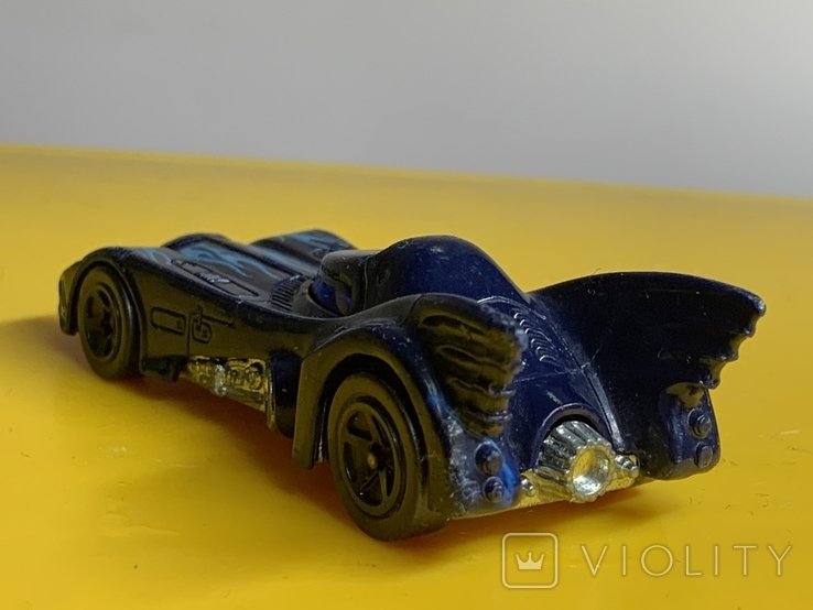 Hot Wheels DC Comics Bat mobile., фото №5