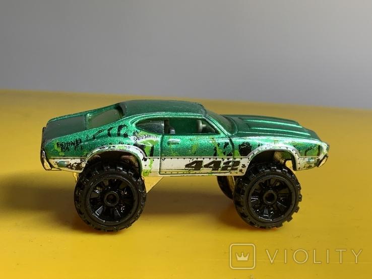 Hot Wheels Olds 442 W-30 Monster Car, фото №3
