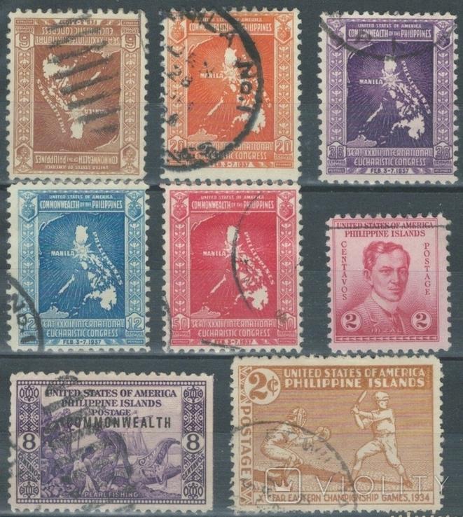 З01 Филиппинские о-ва (США) 1920-1930-е гг