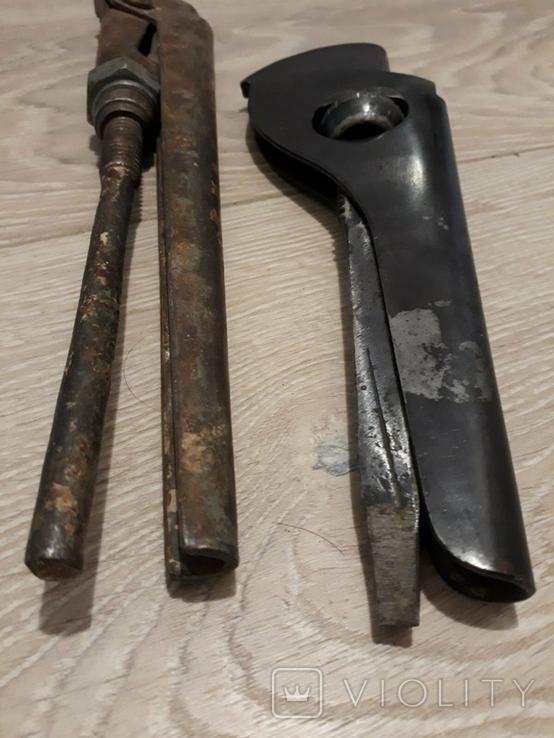 Трубный ключ 2шт., фото №4