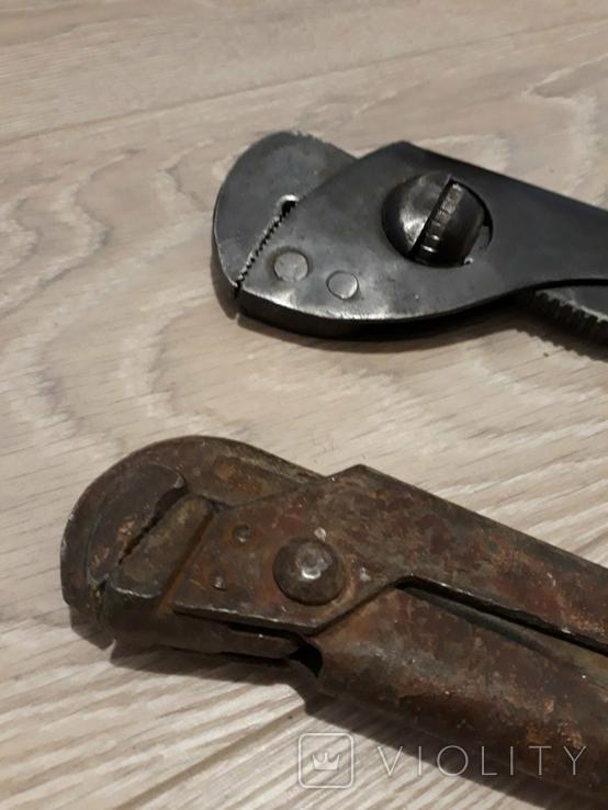 Трубный ключ 2шт., фото №6