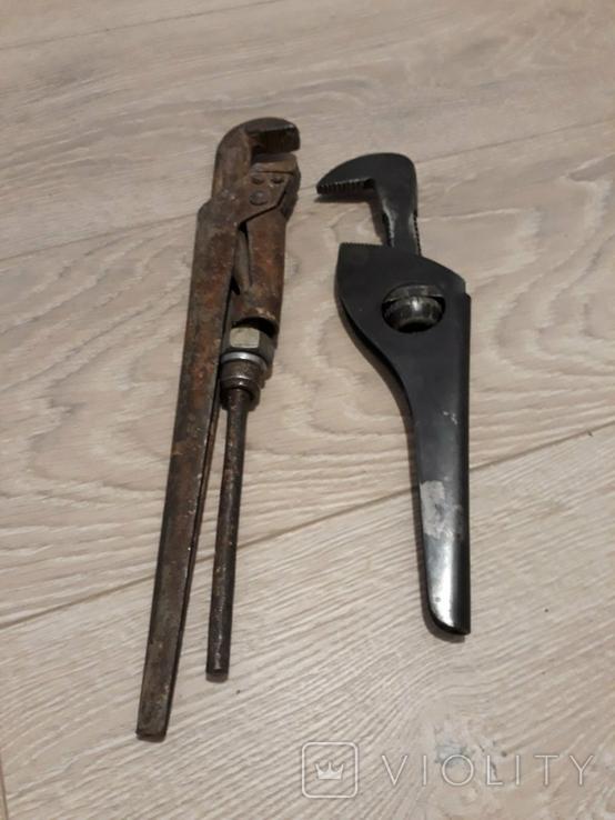 Трубный ключ 2шт., фото №7