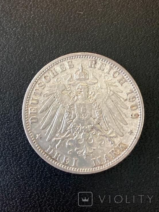 Три марки 1909 (Drei mark), фото №3