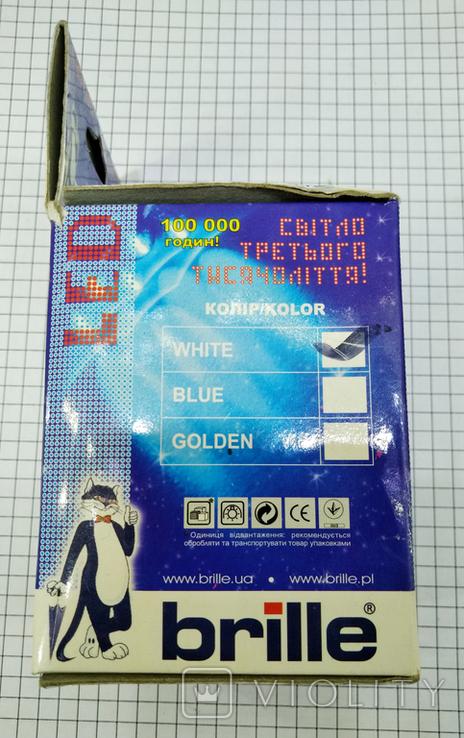 3шт Светодиодные лампочки Brille LED E27 новые, фото №6