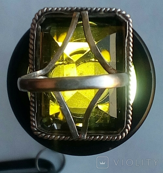 Серьги и кольцо.Серебряный набор., фото №12