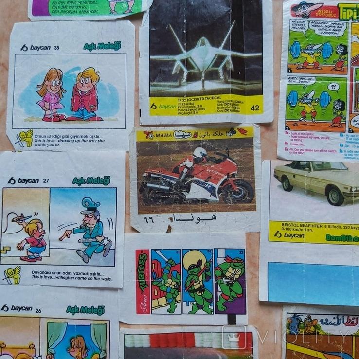 Вкладыши 1993-1998годов, 64 шт, фото №6