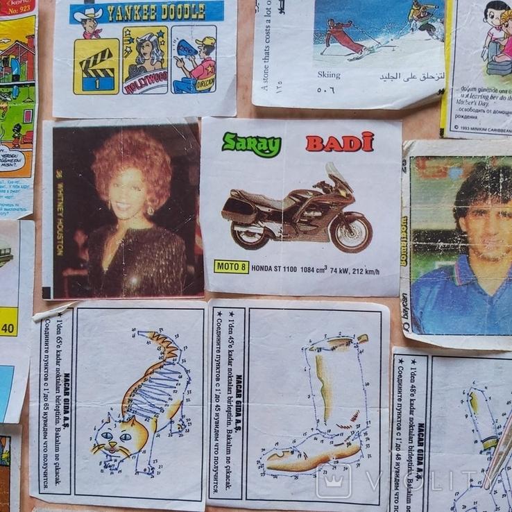 Вкладыши 1993-1998годов, 64 шт, фото №7