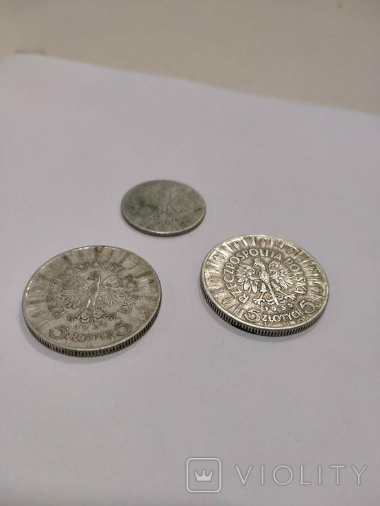 Лот 3 монети, фото №4