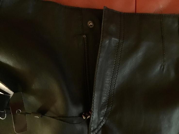 Кожаные шорты Emporio Armani, оригинал, новые, фото №5