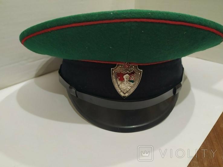 Фуражка ПВ КГБ СССР, фото №2