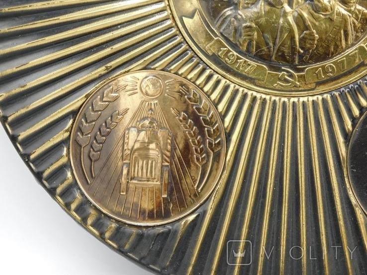 Настінна таріль СРСР, фото №6