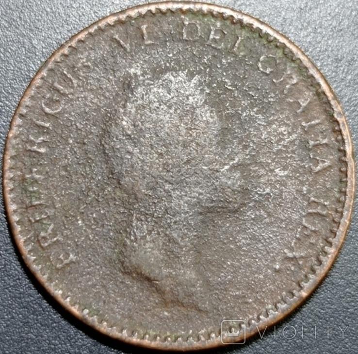 1 рігсбанкскіллінг, 1813, Данія, Фредерік VI, фото №2