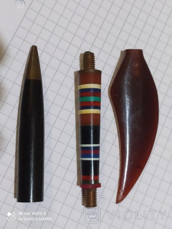 Ручка с янтарём., фото №5