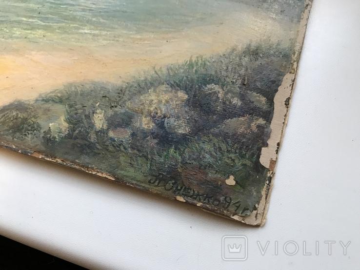 Картина А.Онежко 94г., фото №3