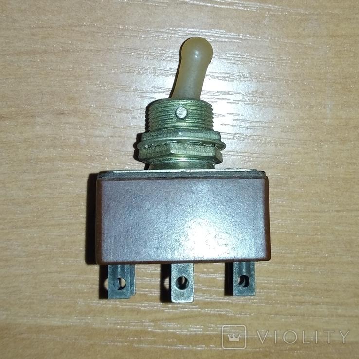 Тумблер, переключатель Т3, СССР (2), фото №3