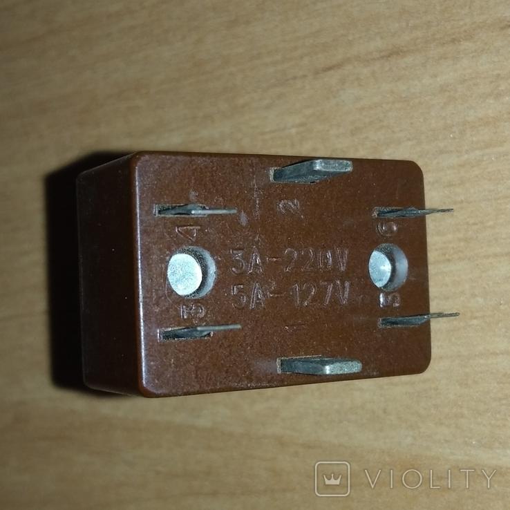 Тумблер, переключатель Т3, СССР (2), фото №5