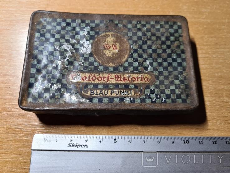 Коробочка из под сигарет Waldorf-Astoria Blaupunkt, фото №2