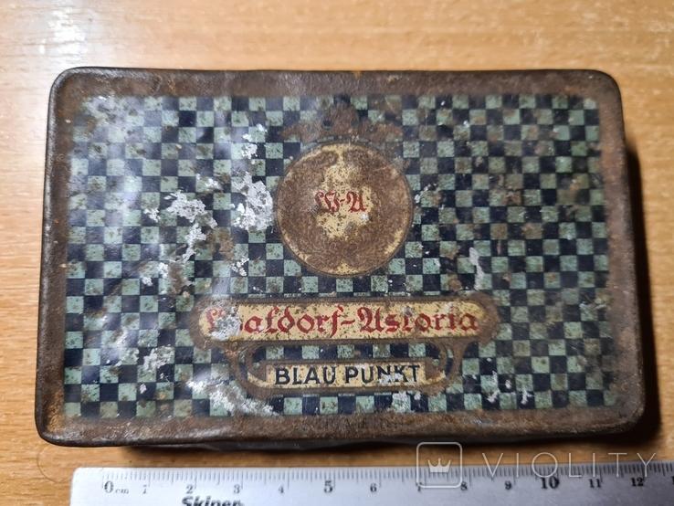 Коробочка из под сигарет Waldorf-Astoria Blaupunkt, фото №5